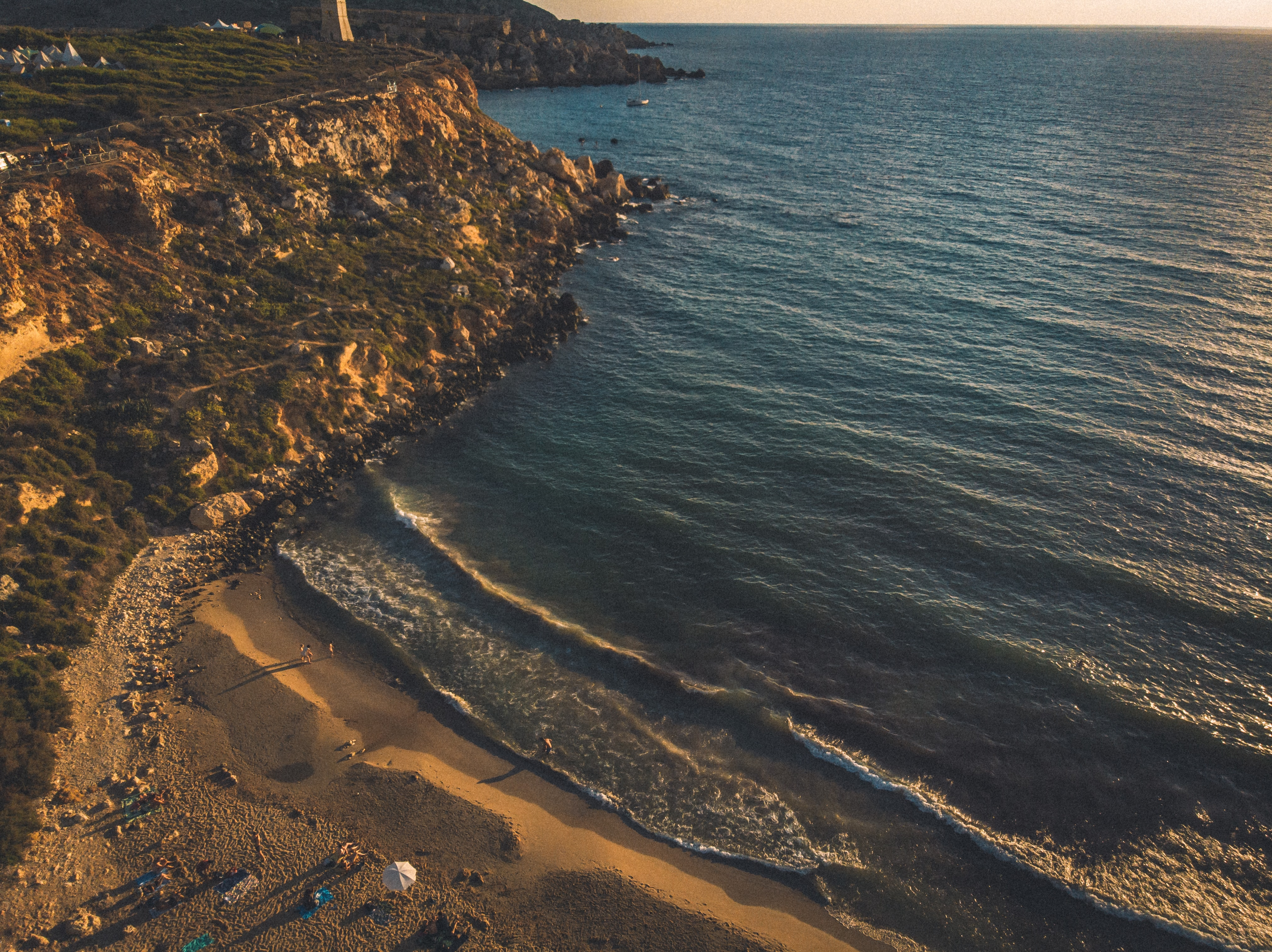 Instagrammable places in Malta, Golden Bay