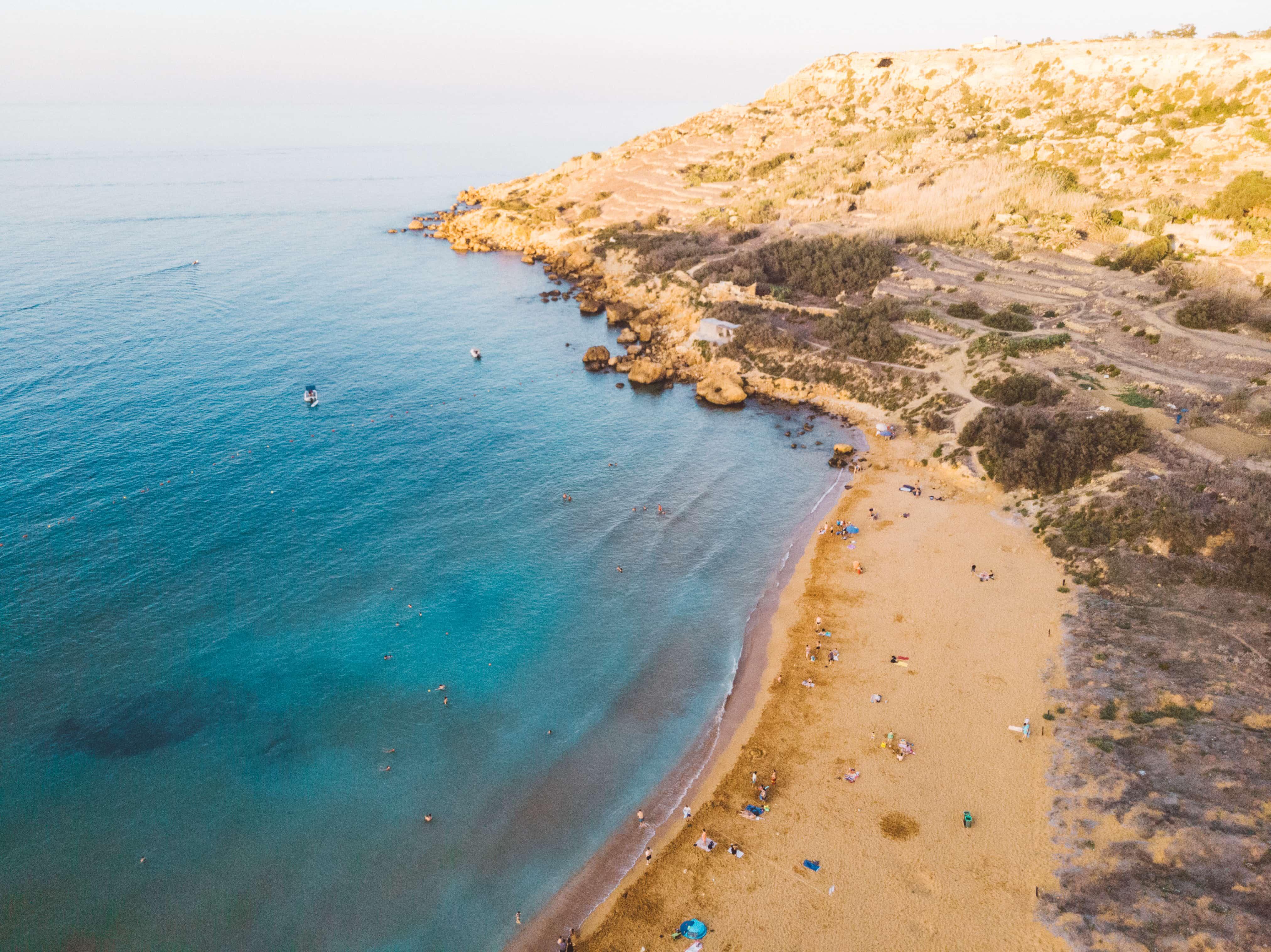 Instagrammable places in Malta, Ramla Beach