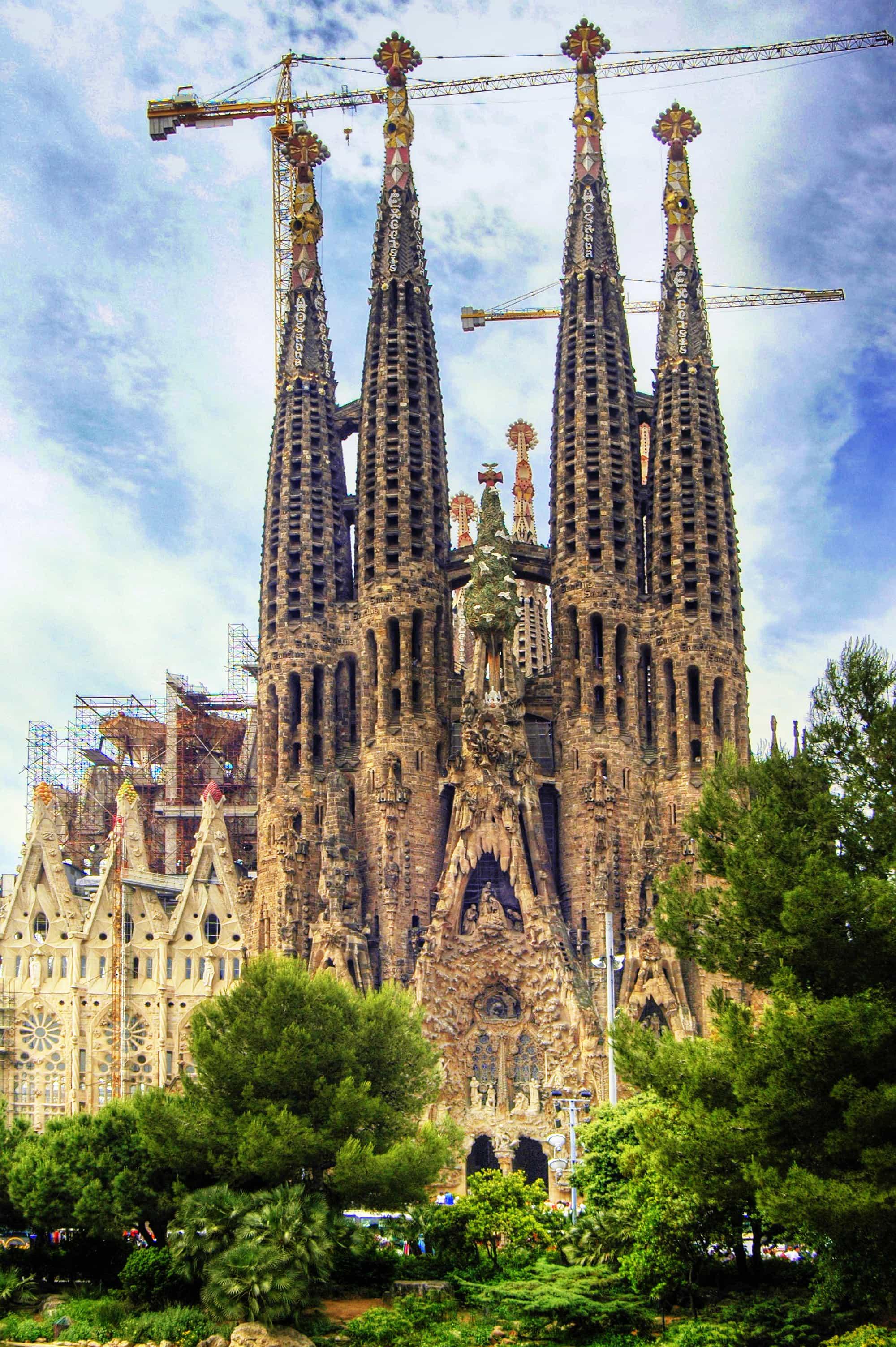 La Sagrada Familia, Instagrammable places in Spain