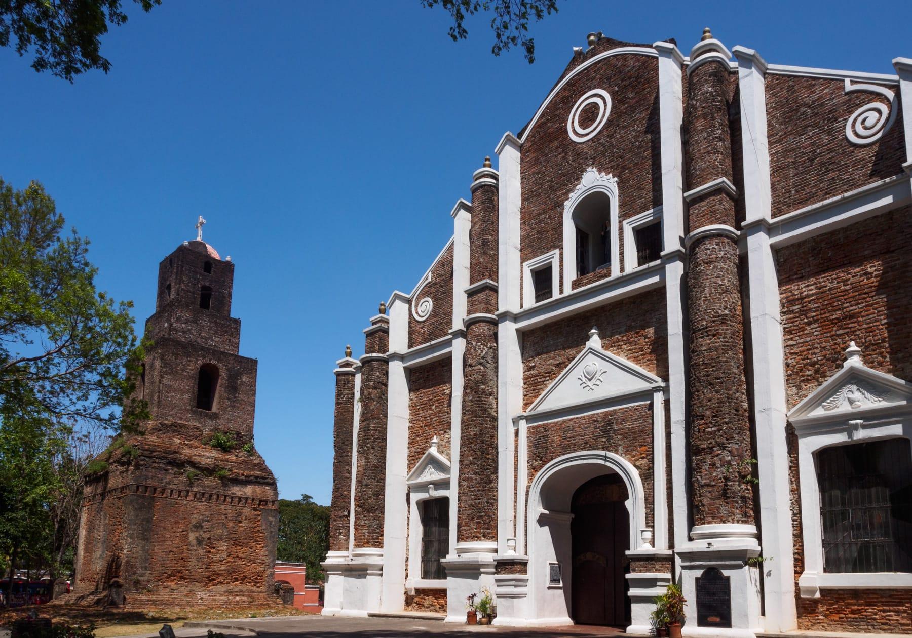 Ilocos Norte Tourist spots, Santa Monica Church, things to do in Laoag, tourist spots in Ilocos Norte