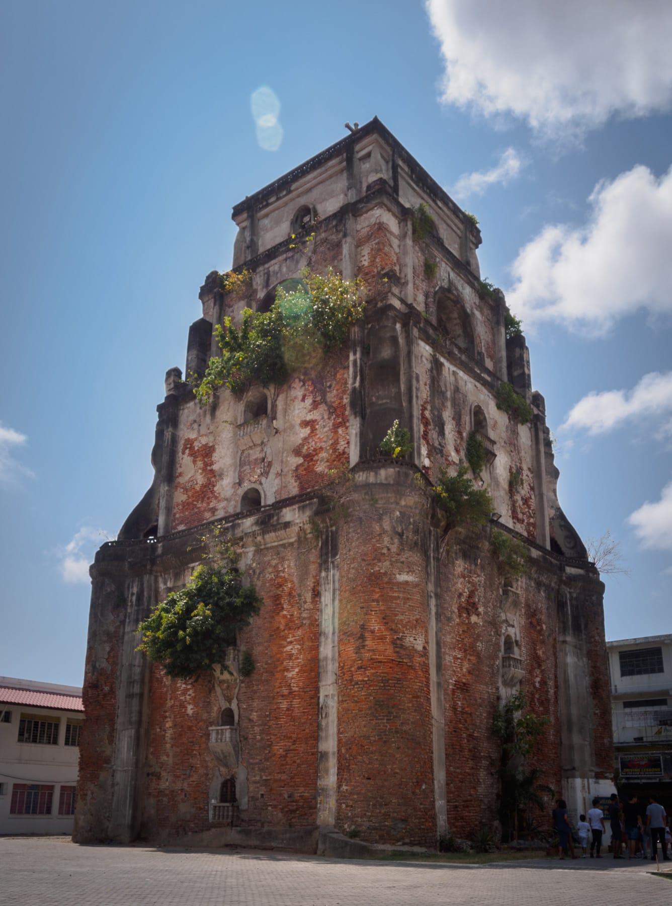 Ilocos Norte Tourist spots, Sinking Bell Tower, things to do in Laoag, tourist spots in Ilocos Norte