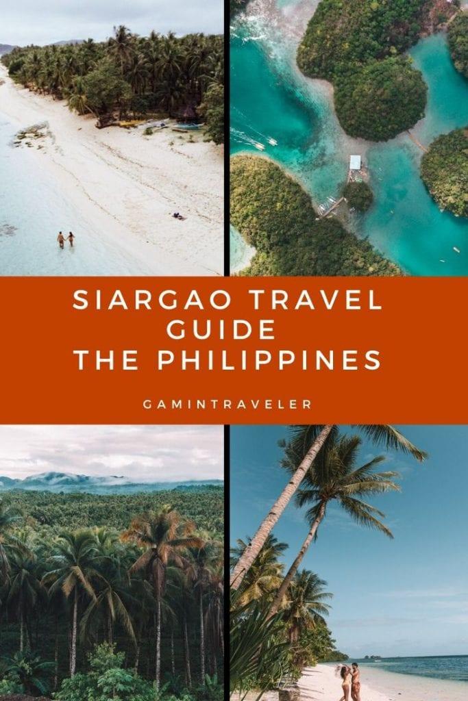 SIARGAO TOURIST SPOTS