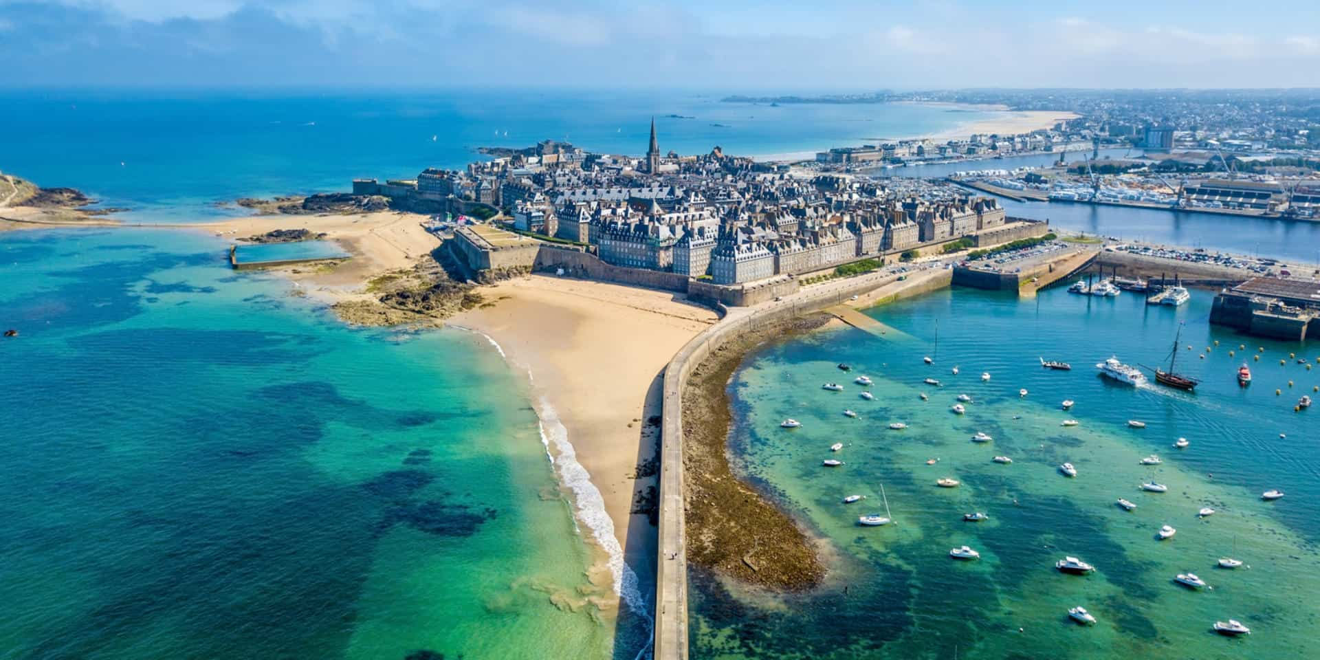 Saint Malo. instagrammable places in France