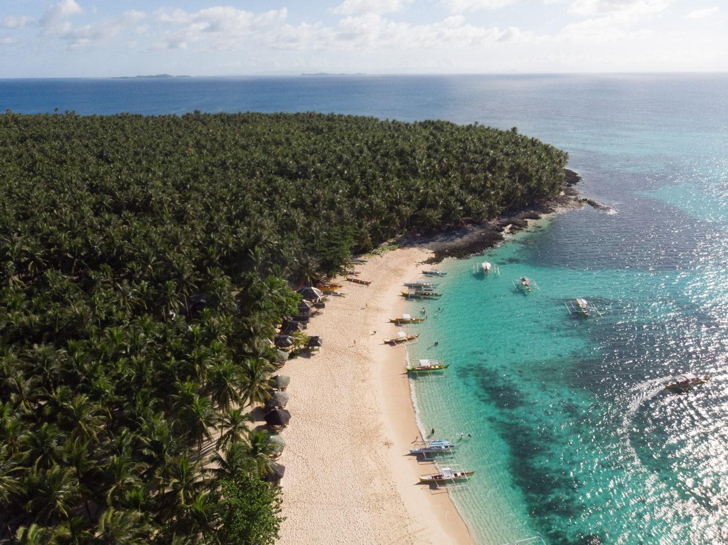 How to get to Sohoton Cove, Siargao Island, Daku Island
