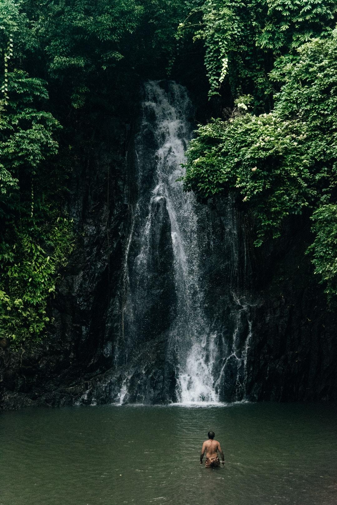How to get to Alegria Beach, taktak waterfalls