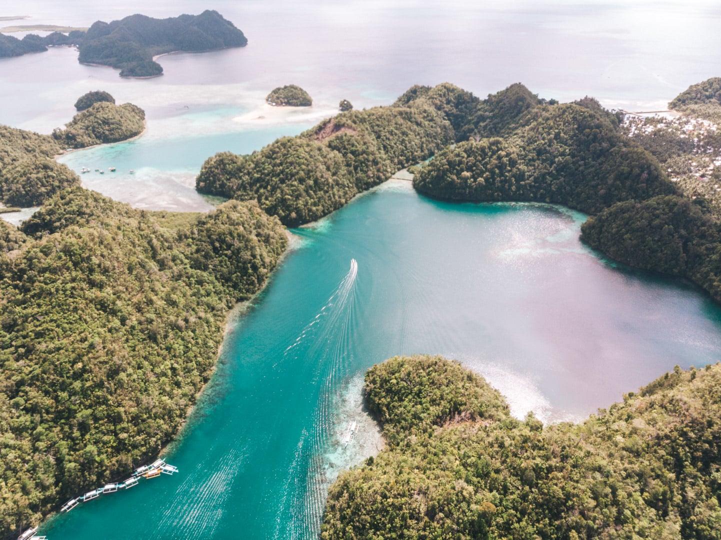How to get to Sugba Lagoon, Sugba Lagoon