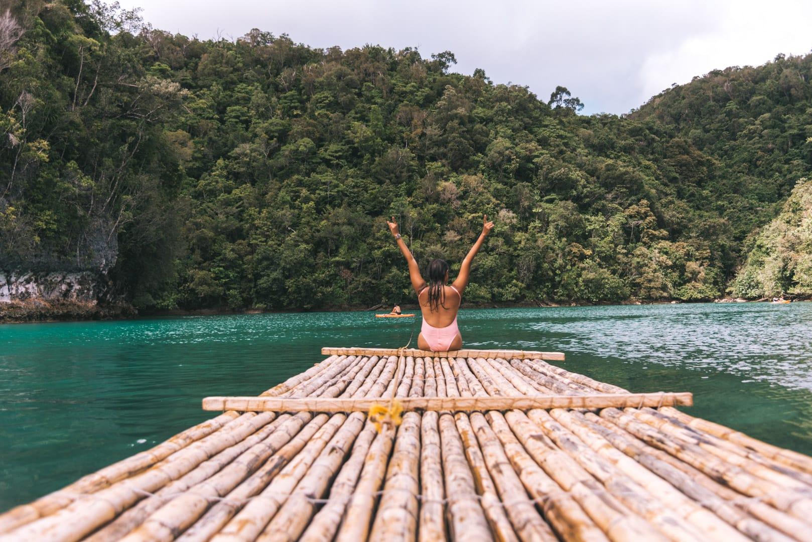 Island Hopping in Siargao, Sugba Lagoon