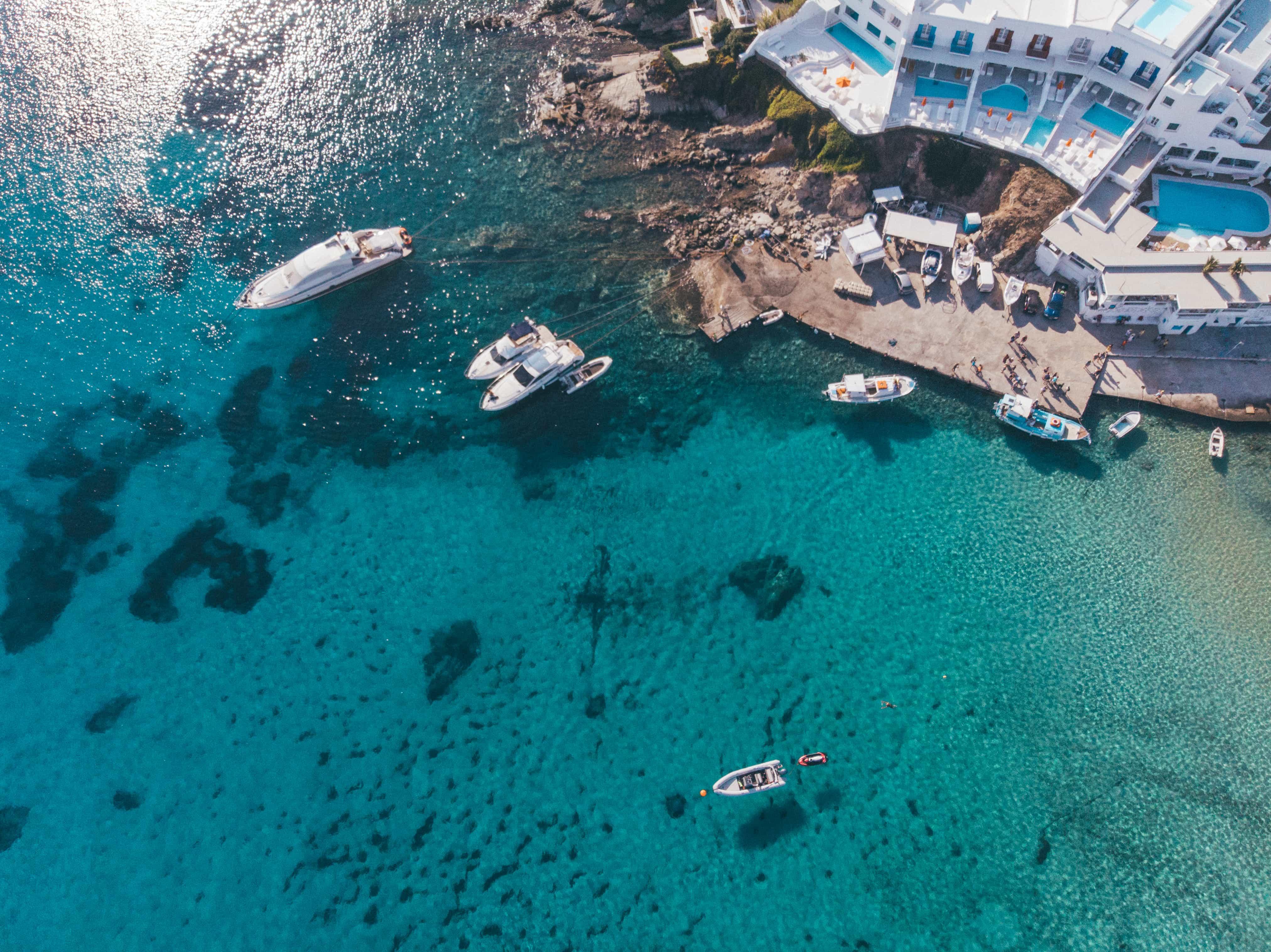 instagrammable places in Greece, Platis Gialos Mykonos