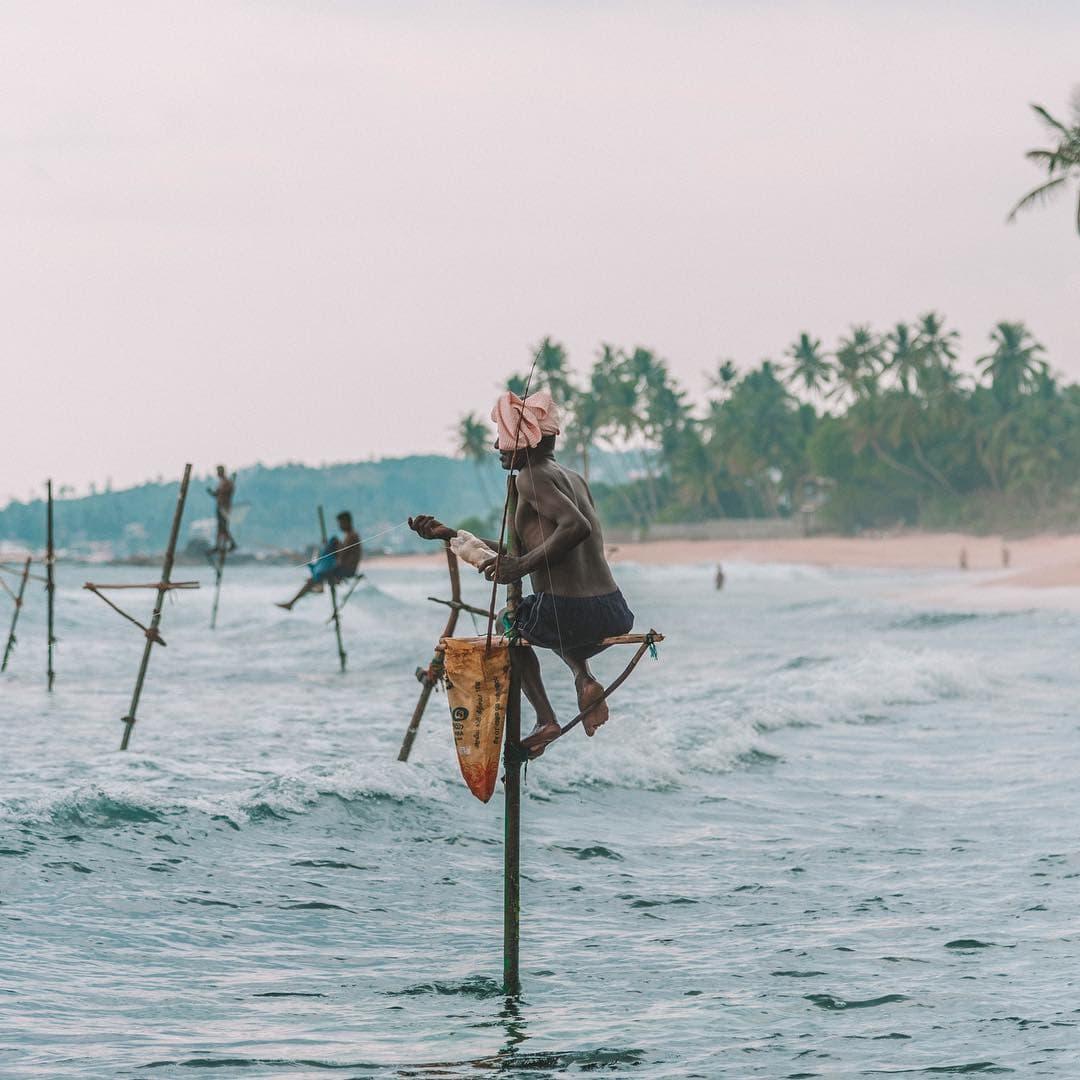 instagrammable places in Sri Lanka, fisherman Sri Lanka