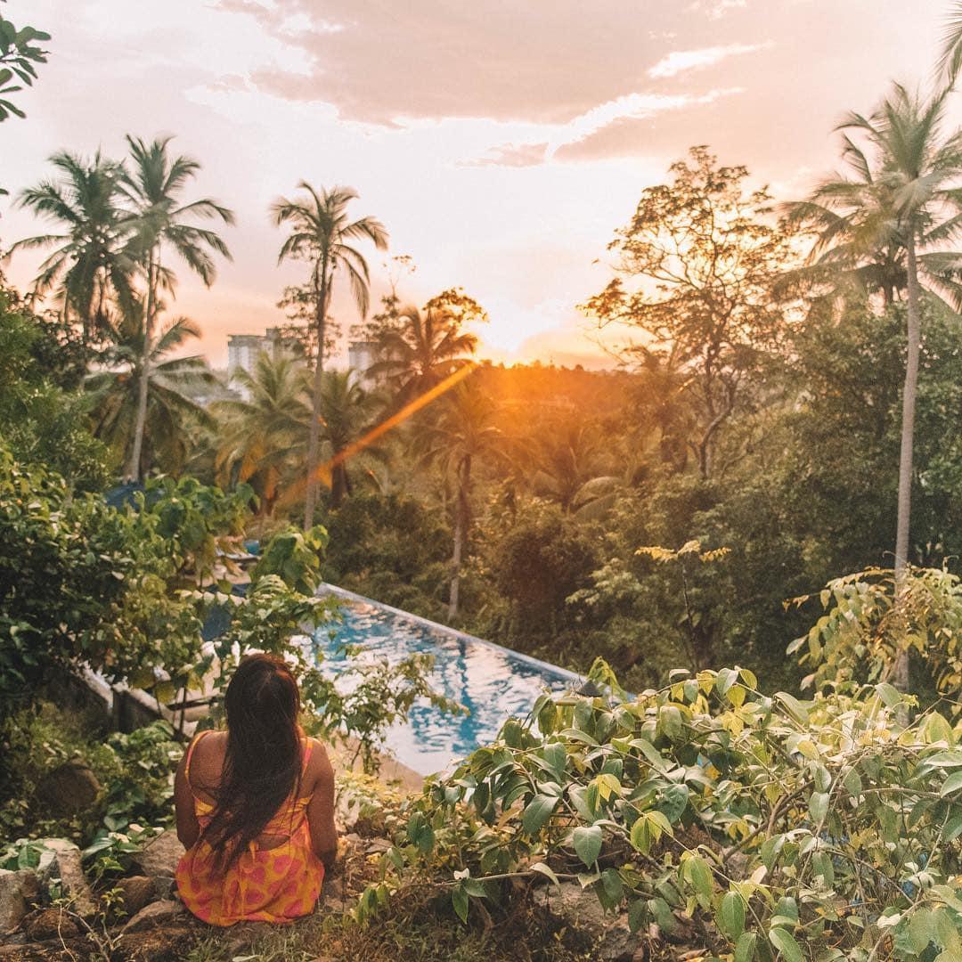 instagrammable places in Sri Lanka, sunset in Sri Lanka