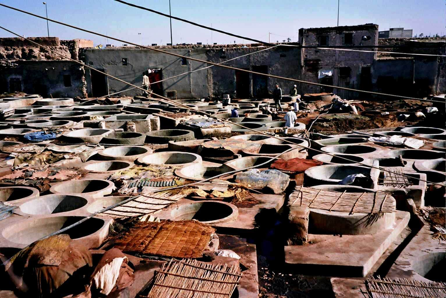 things to do in Marrakech, Tanneries