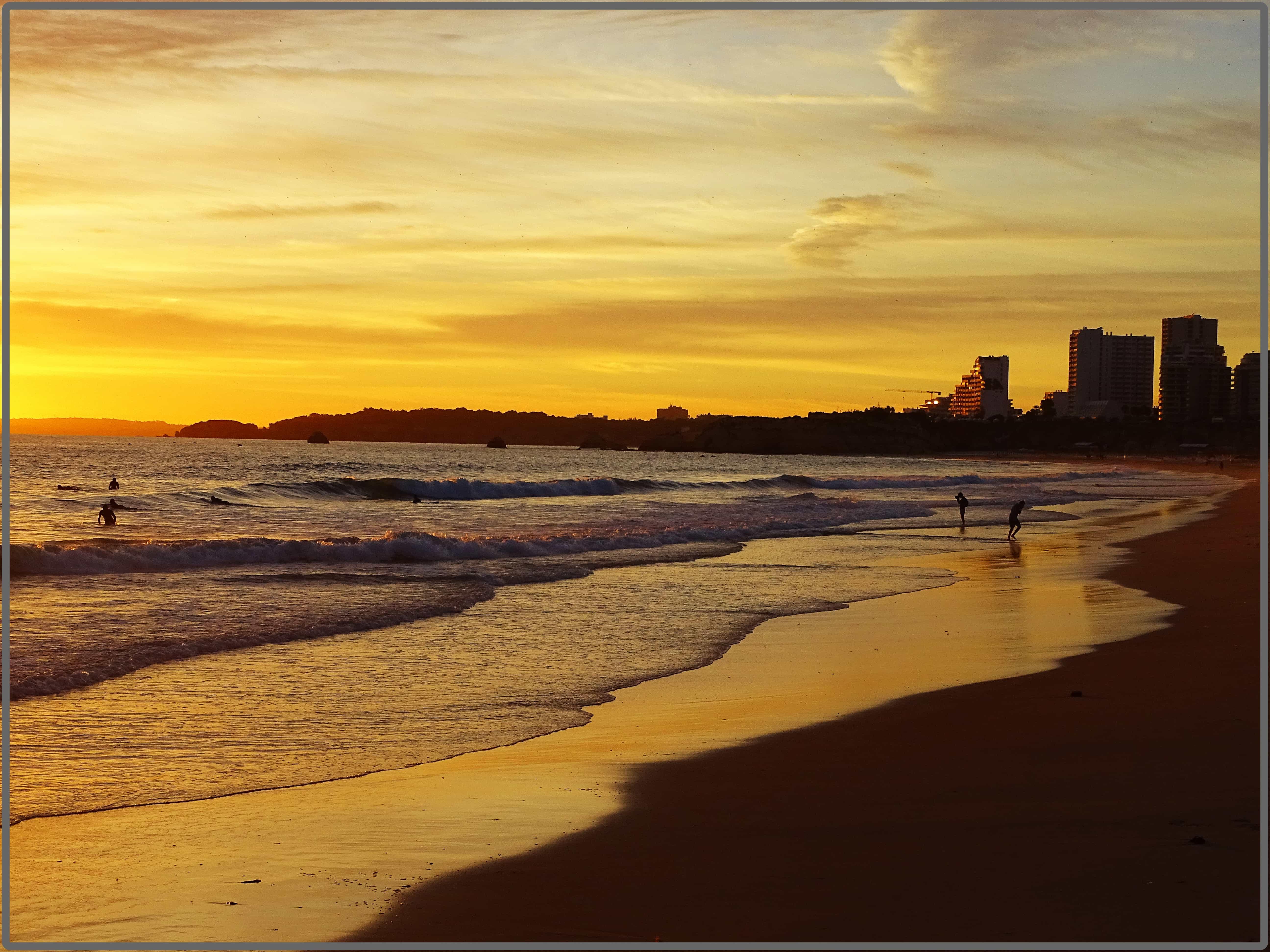Beaches in Algarve, Praia da Rocha