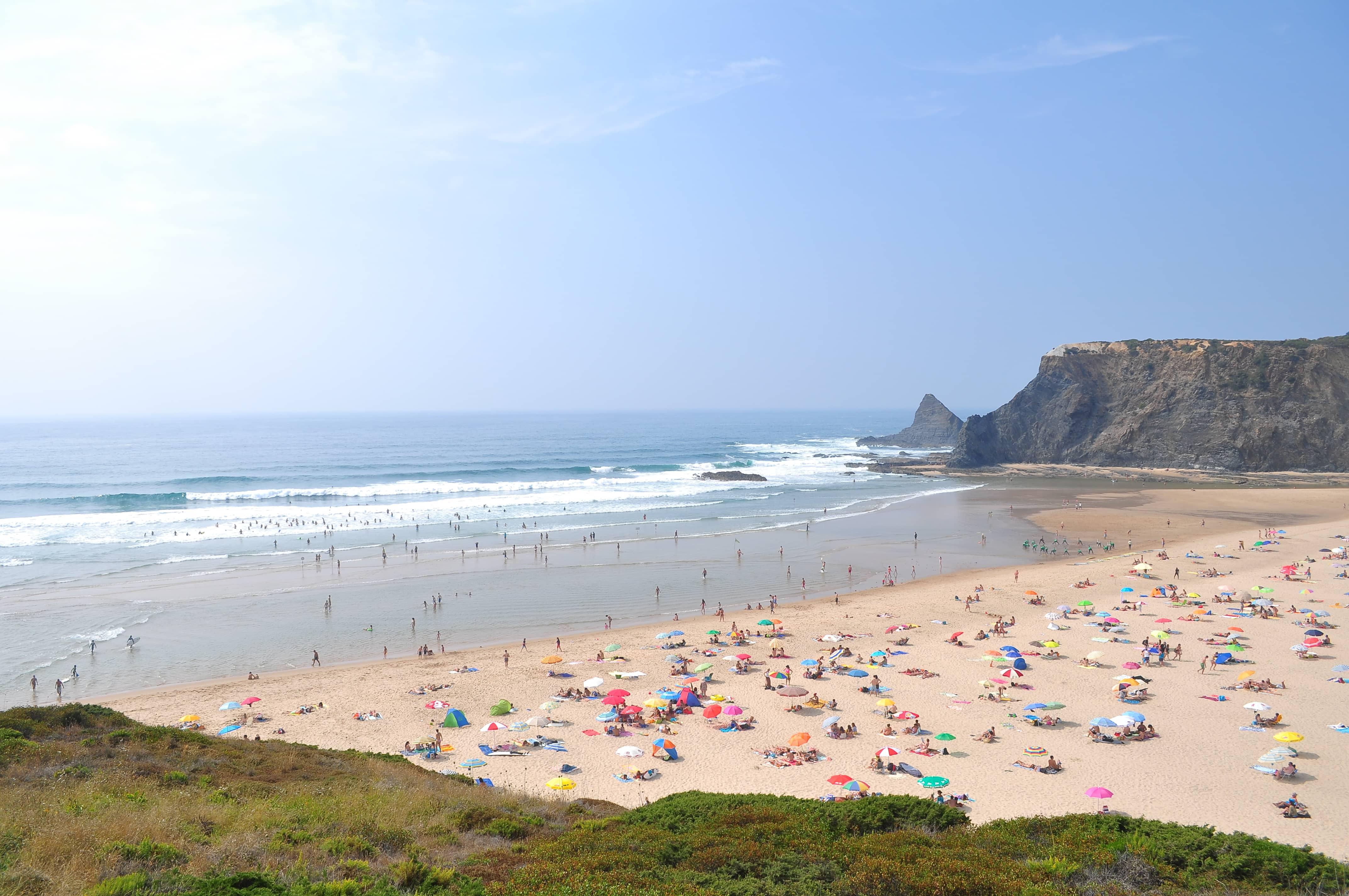 Beaches in Algarve,  Praia de Odeceixe Mar
