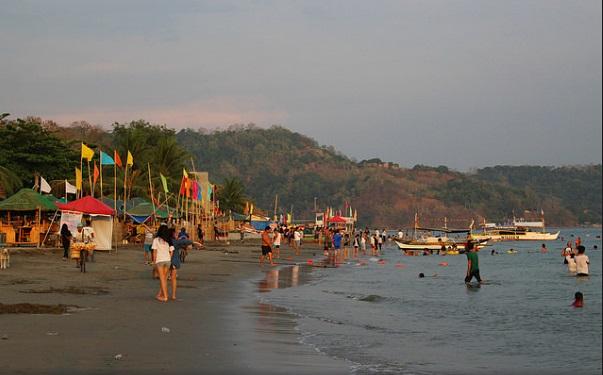 Beaches in Zambales, baloy beach