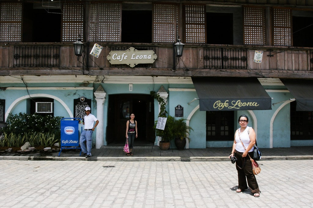 Cafe Leona, Vigan tourist spots, things to do in Vigan