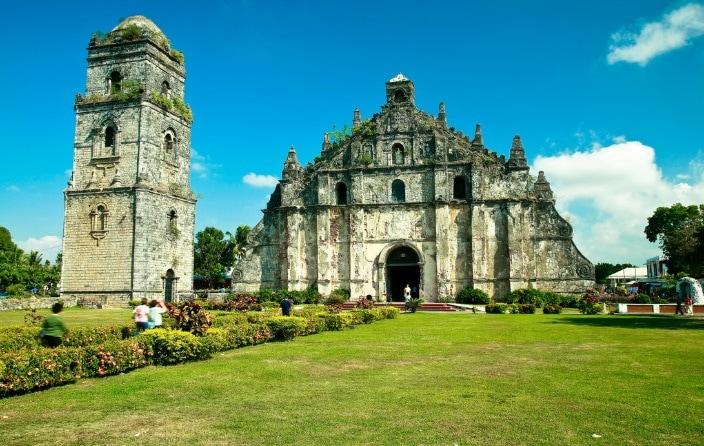 Ilocos Norte tourist spots, paoay church, Ilocos Itinerary