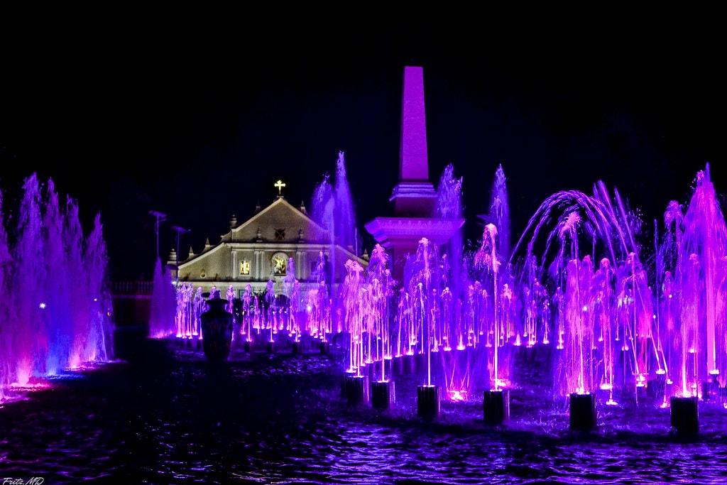 Dancing Fountain Show at Plaza Salcedo,  Vigan tourist spots, things to do in Vigan