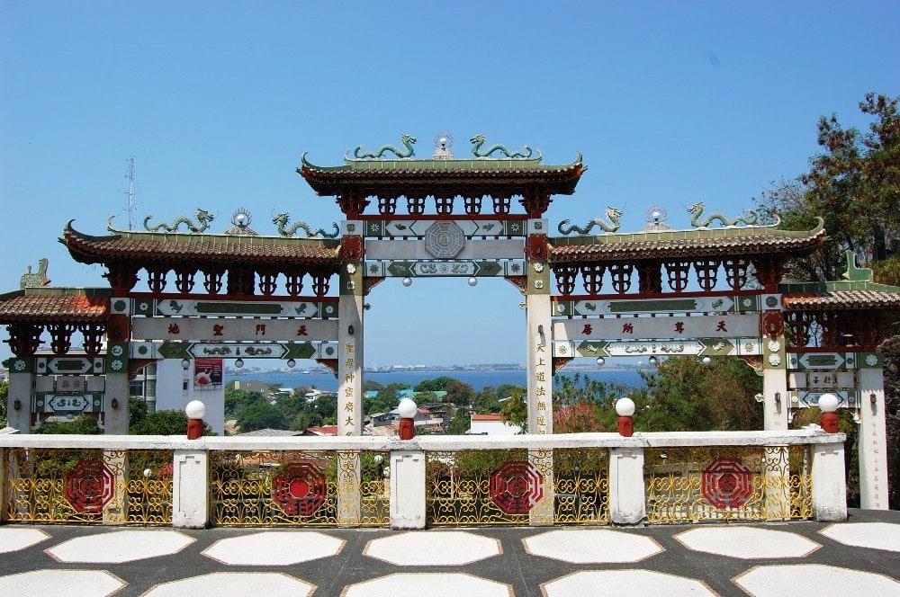 La Union tourist spots, La Union travel guide, Ma cho temple La Union, La Union itinerary