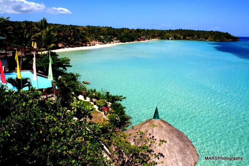 Santiago Bay, best beaches in Cebu