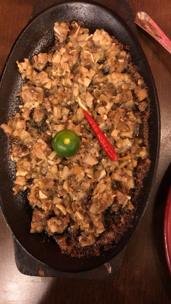 pampanga delicacies, pampanga food, sisig