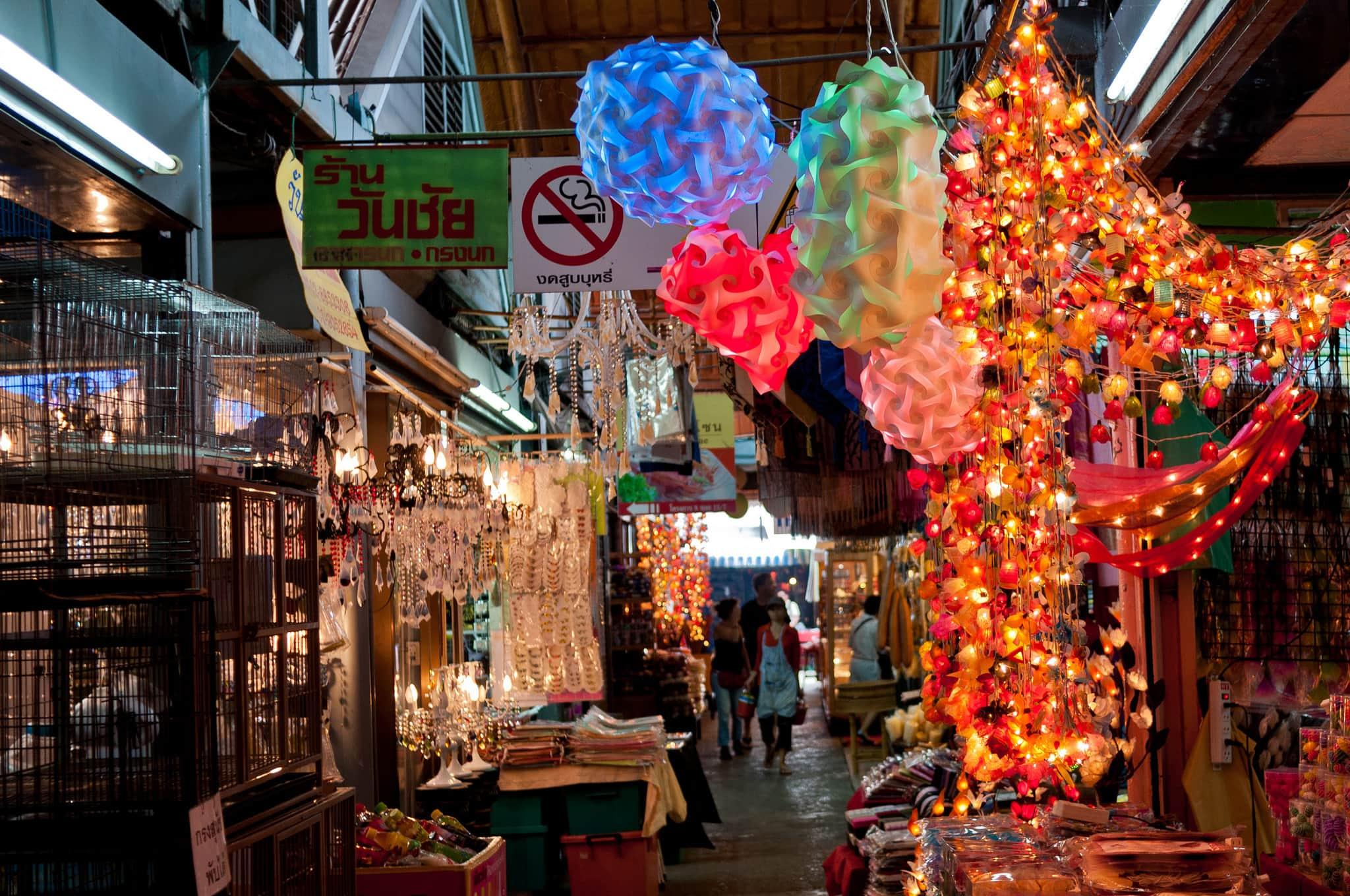 Thailand tourist spots, Chatuchak Market