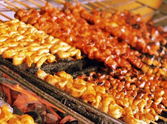 Intestines filipino food