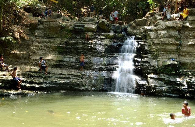 Occalong Falls, things to do in La Union, La Union tourist spots