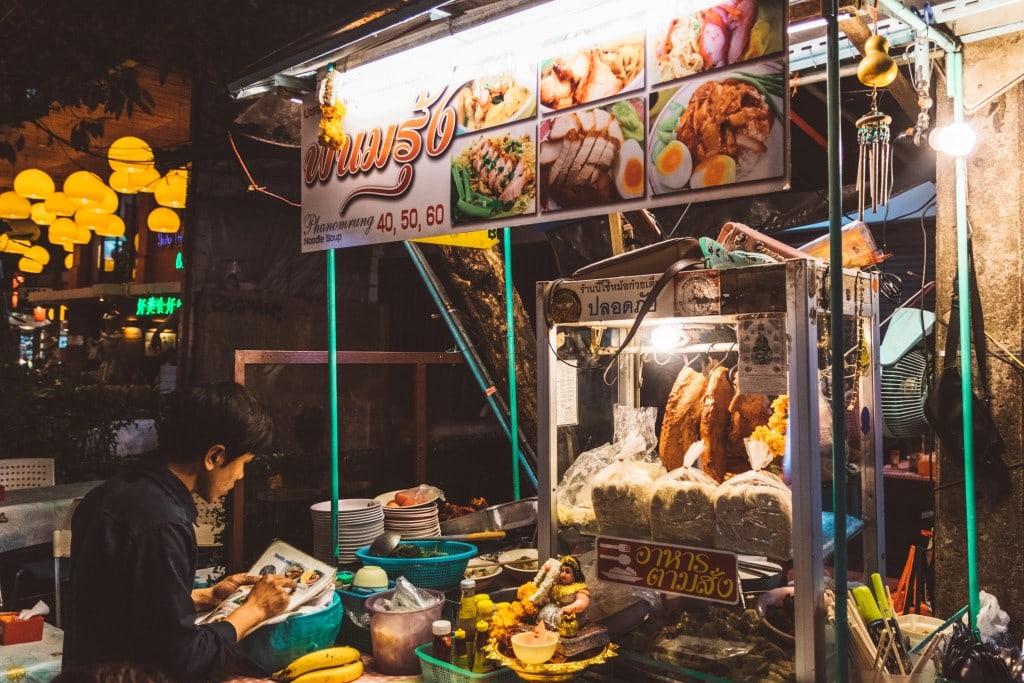 Khao San Road, Thailand tourist spots