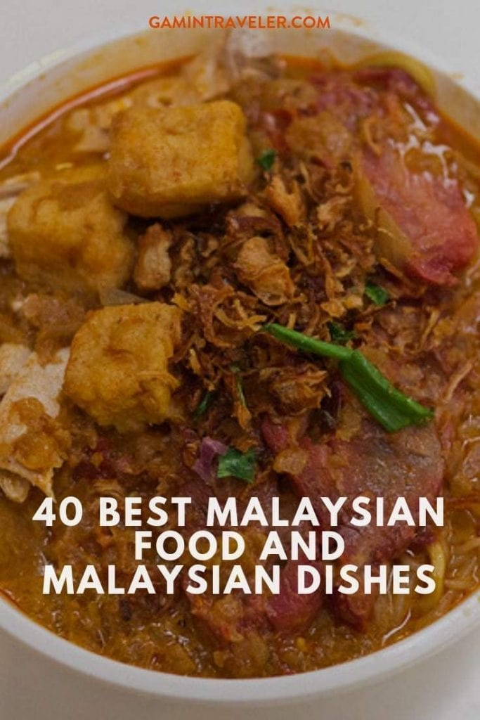 40 BEST MALAYSIAN FOOD AND MALAYSIAN DISHES