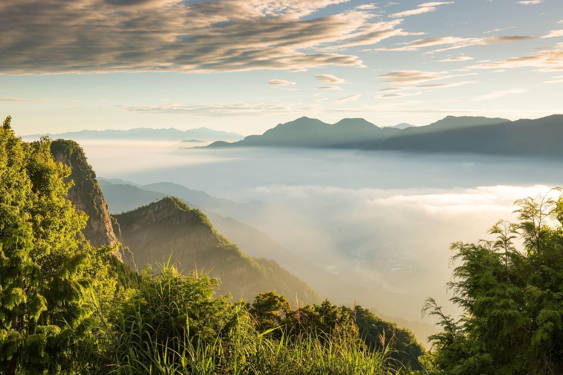 Alishan Mountain, Taiwan tourist spots, Taiwan itinerary
