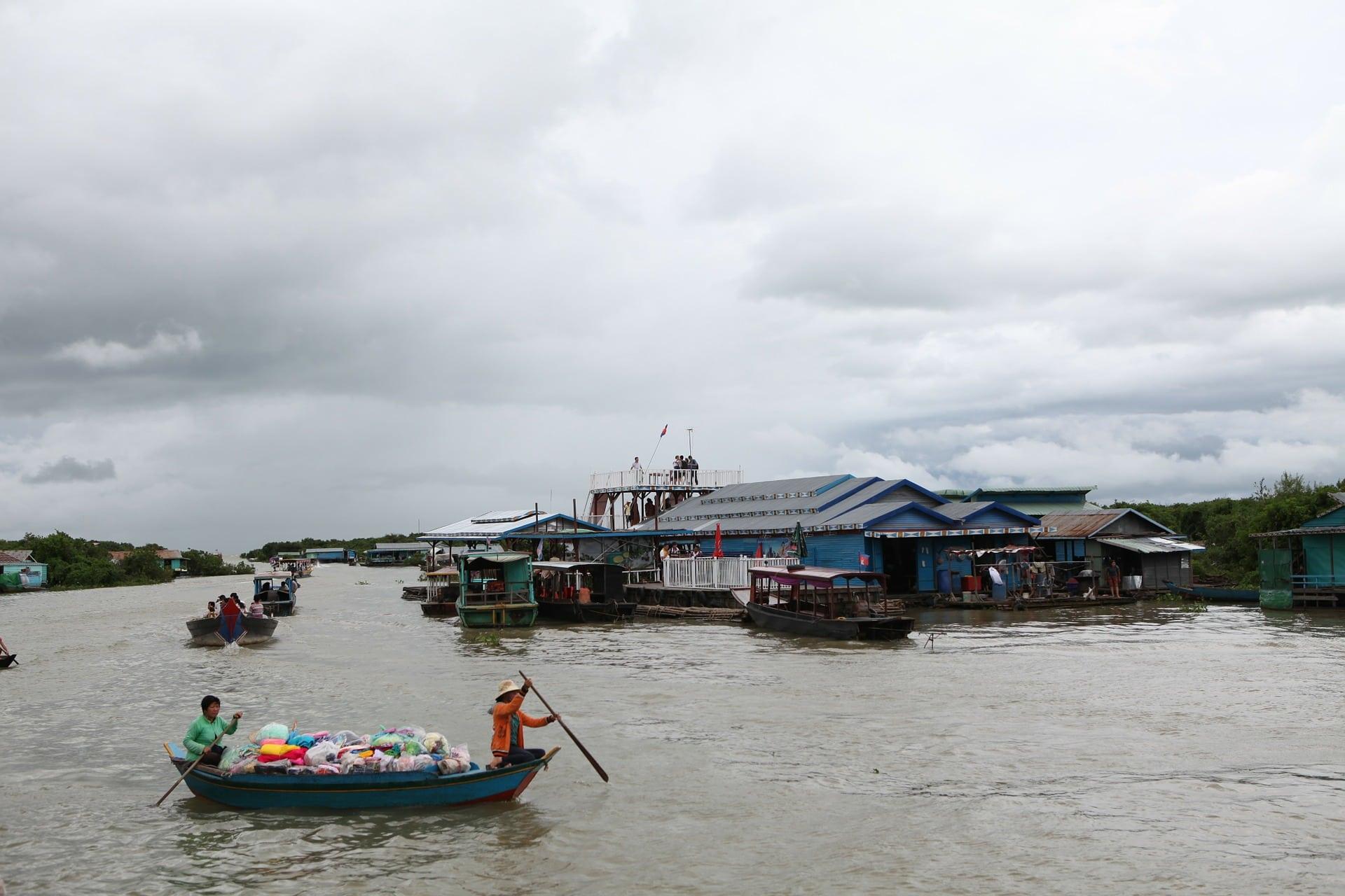Tonle Sap Lake, Cambodia Tourist Spots