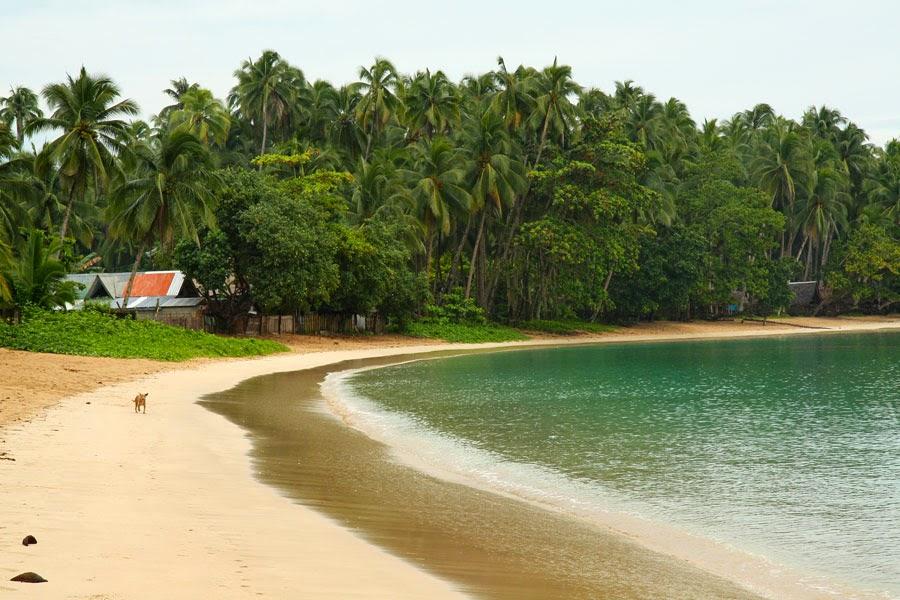 Cagwait Beach, Surigao tourist spots