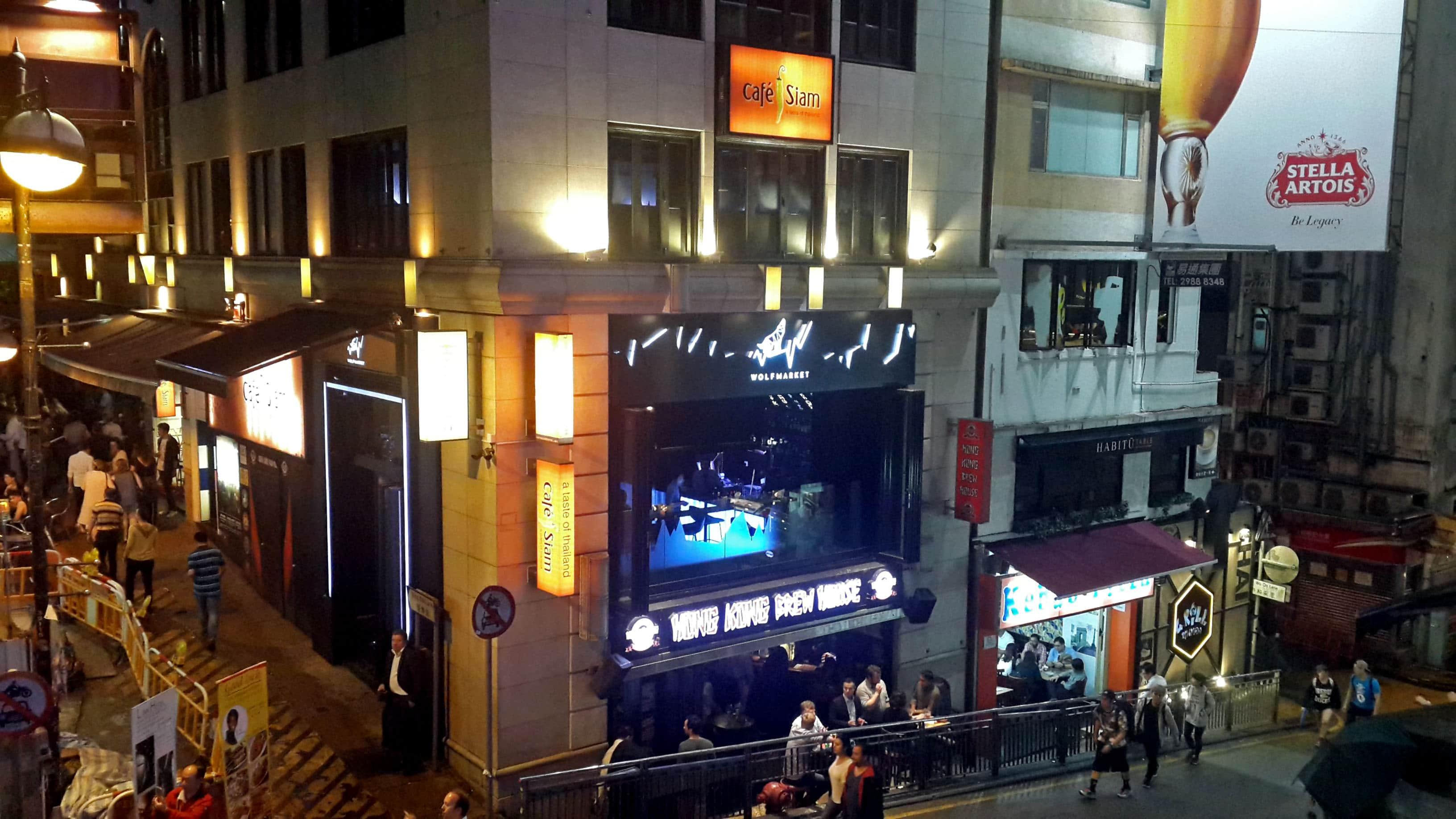 Hong Kong tourist spots, Lan Kwai Fong