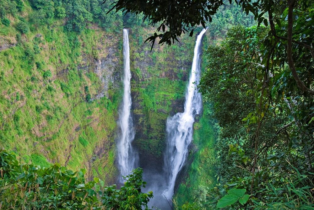 Bolaven Plateau and Tad Fane Waterfall, Laos tourist spots