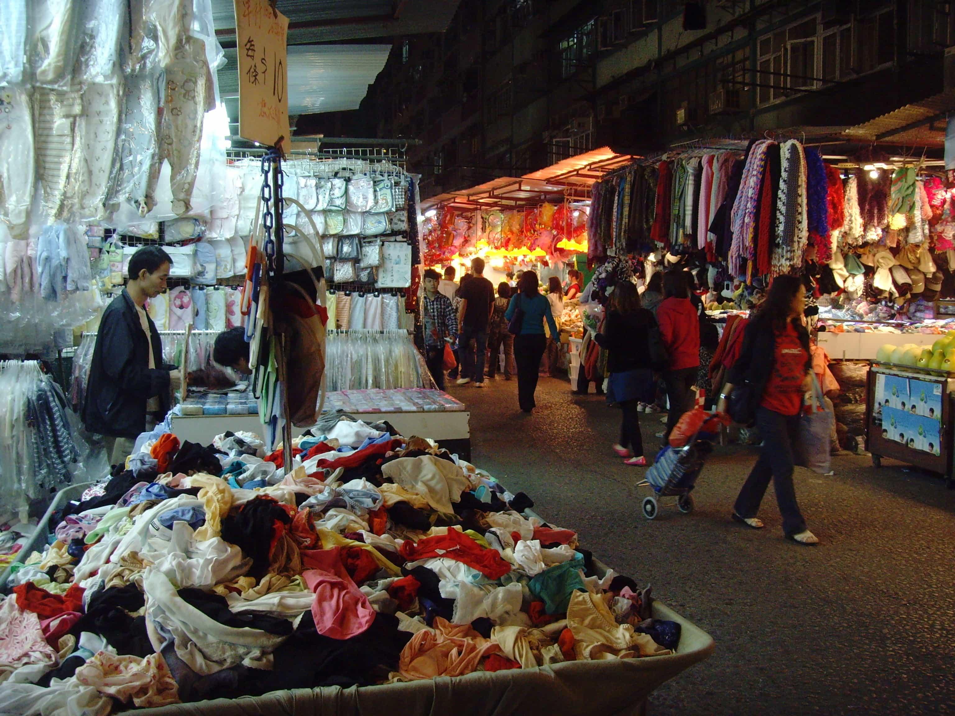 Ladie's Market, Hong Kong tourist spots