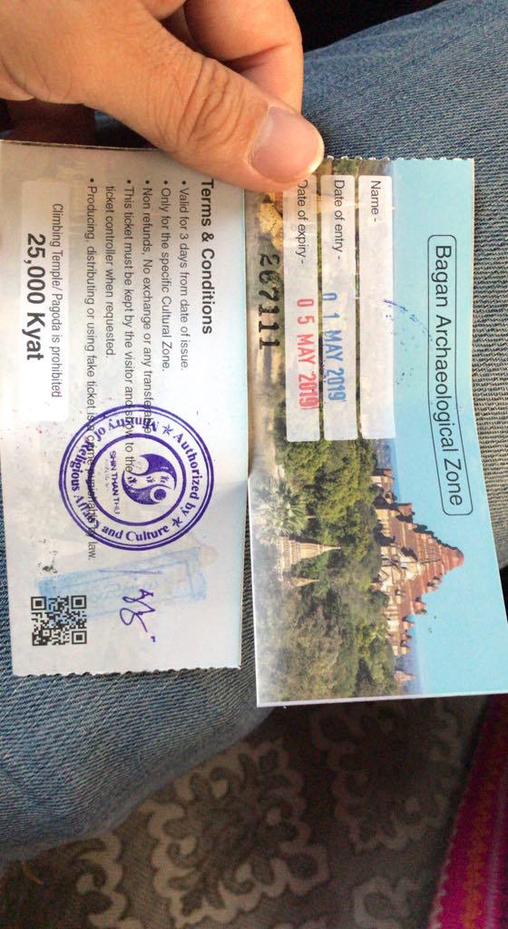 how to get to Bagan, entrance fee in Bagan, yangon to bagan