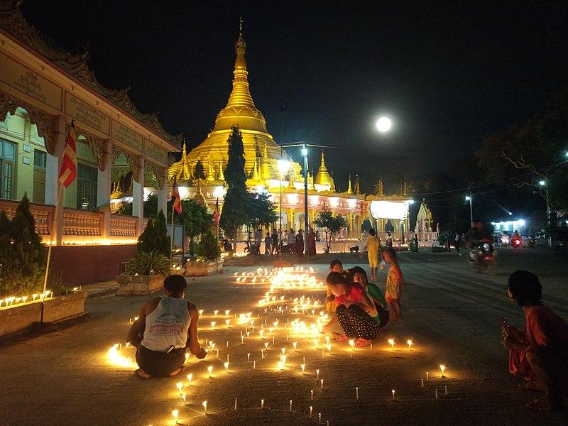 Thadingyut Festival in Myanmar