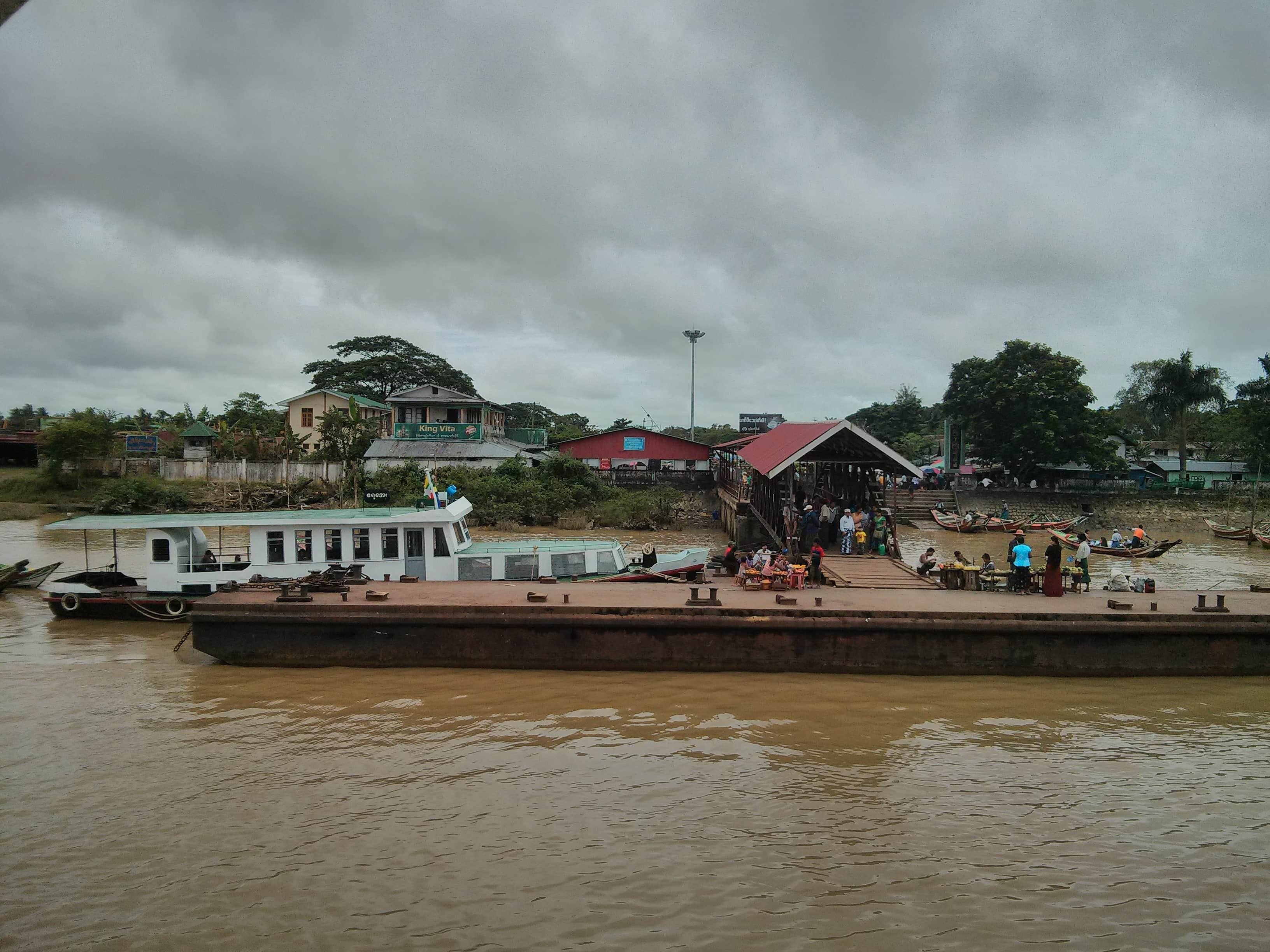 Ferry Yangon to Dala Village