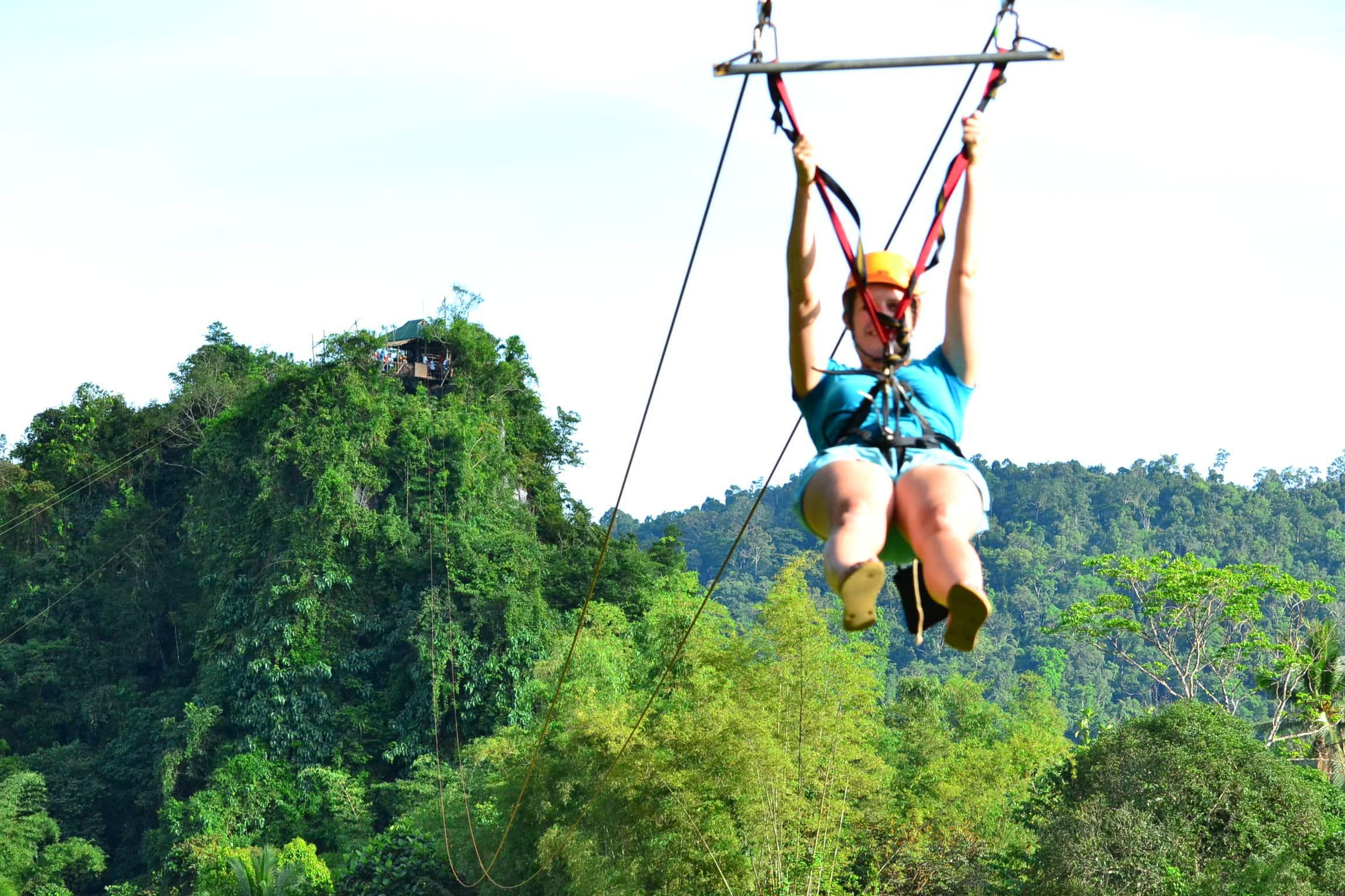 Zipline in Puerto Princesa