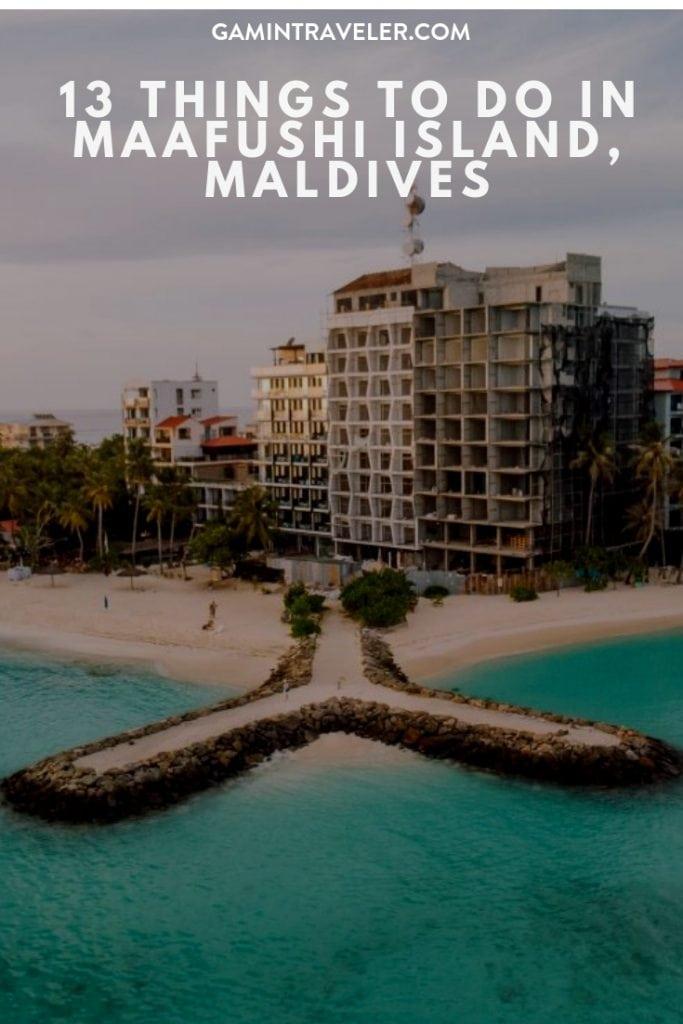 13 Things to do in Maafushi Island