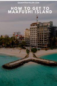 How to get to Maafushi Island