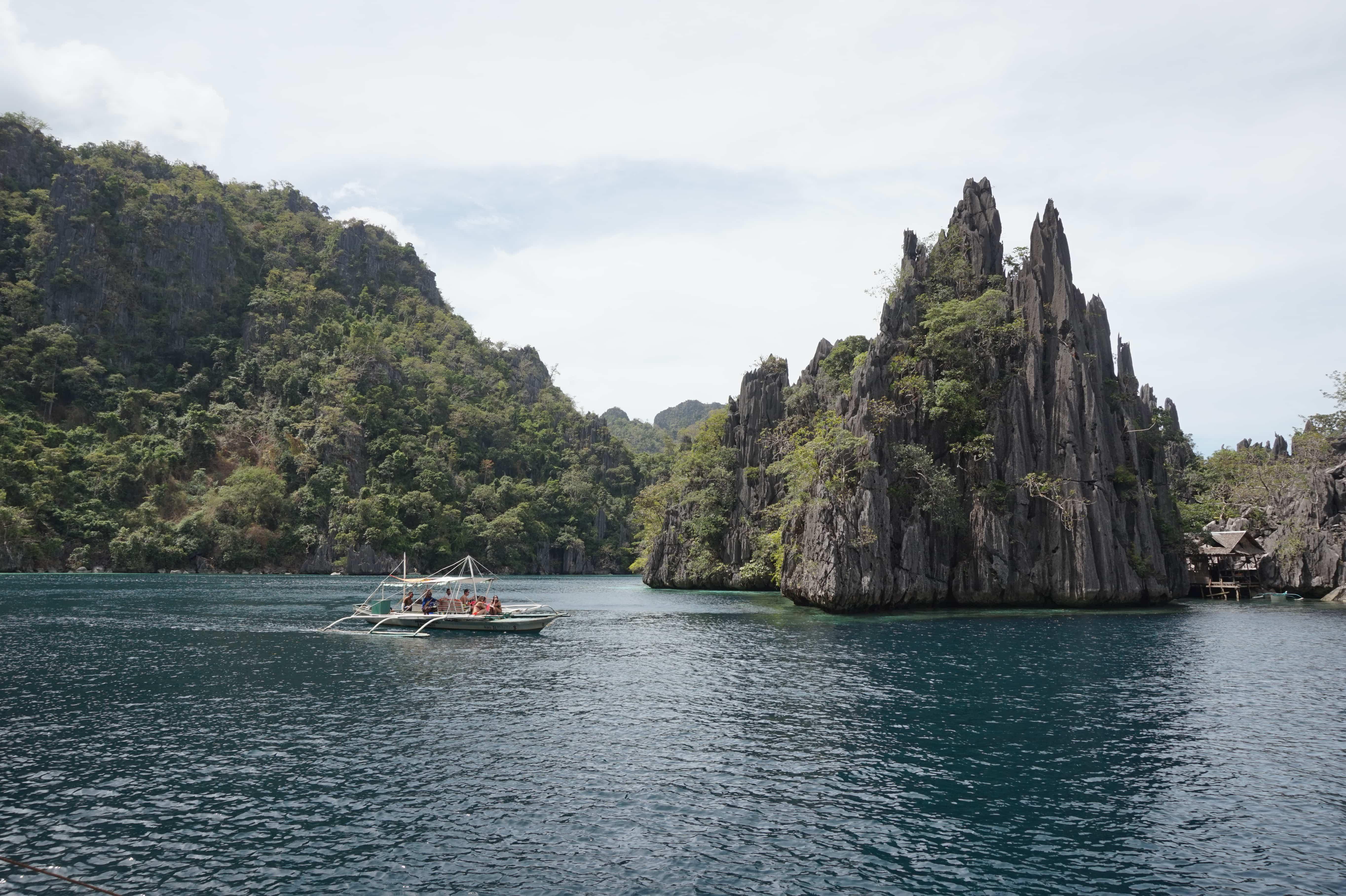 Twin Lagoon, Coron tourist spots