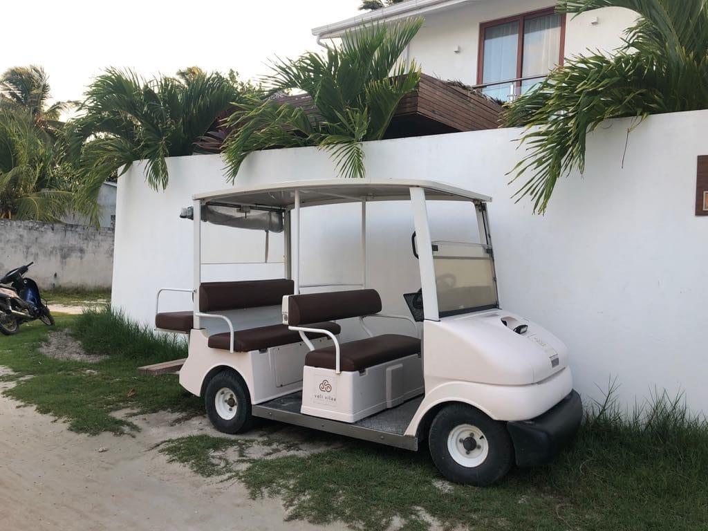 golf car around Maldives