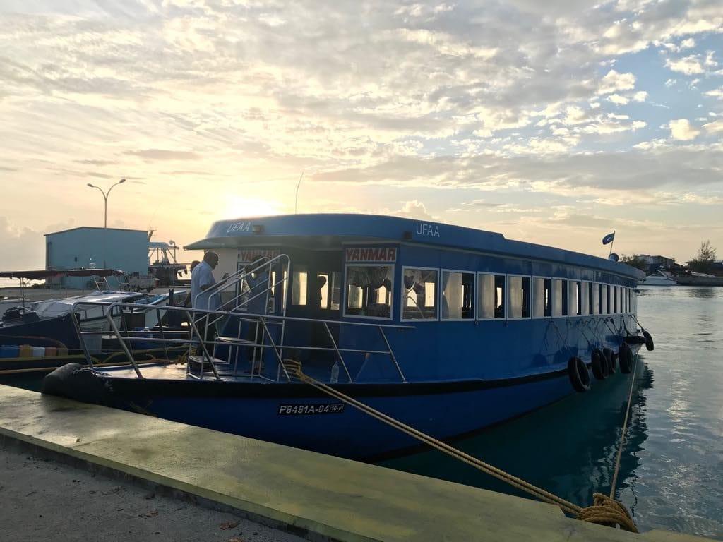 Dhiffushi travel guide, things to do in Dhiffushi, Dhifushi Island, Public boat Male-Dhiffushi,