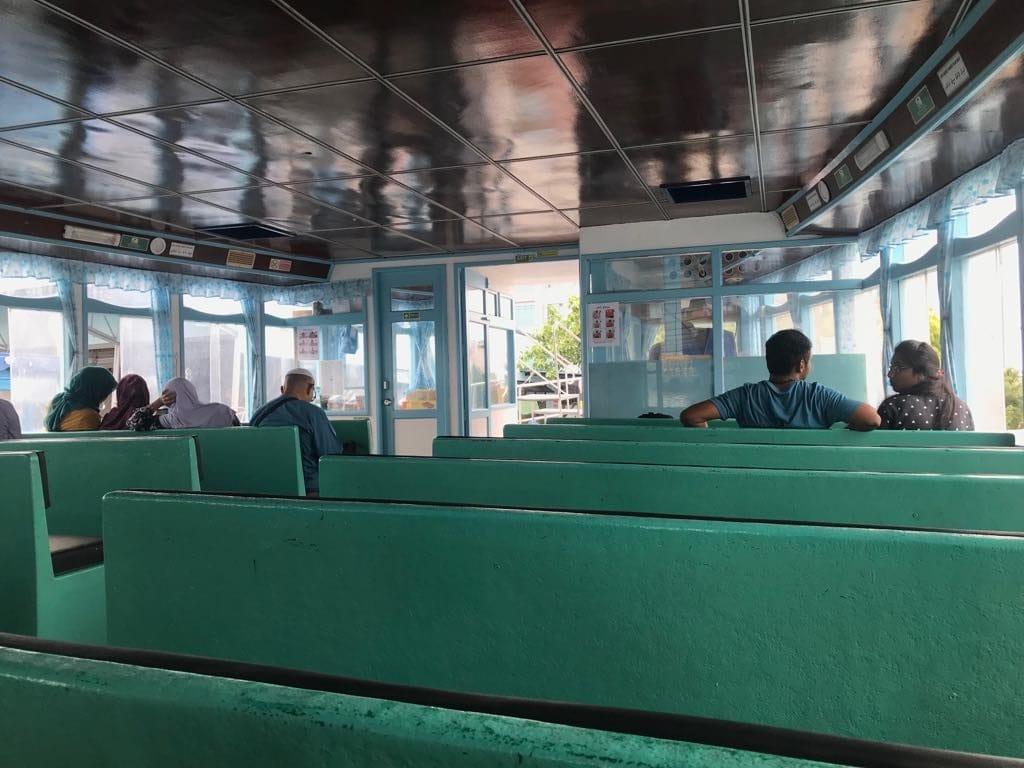getting to Maafushi by public boat