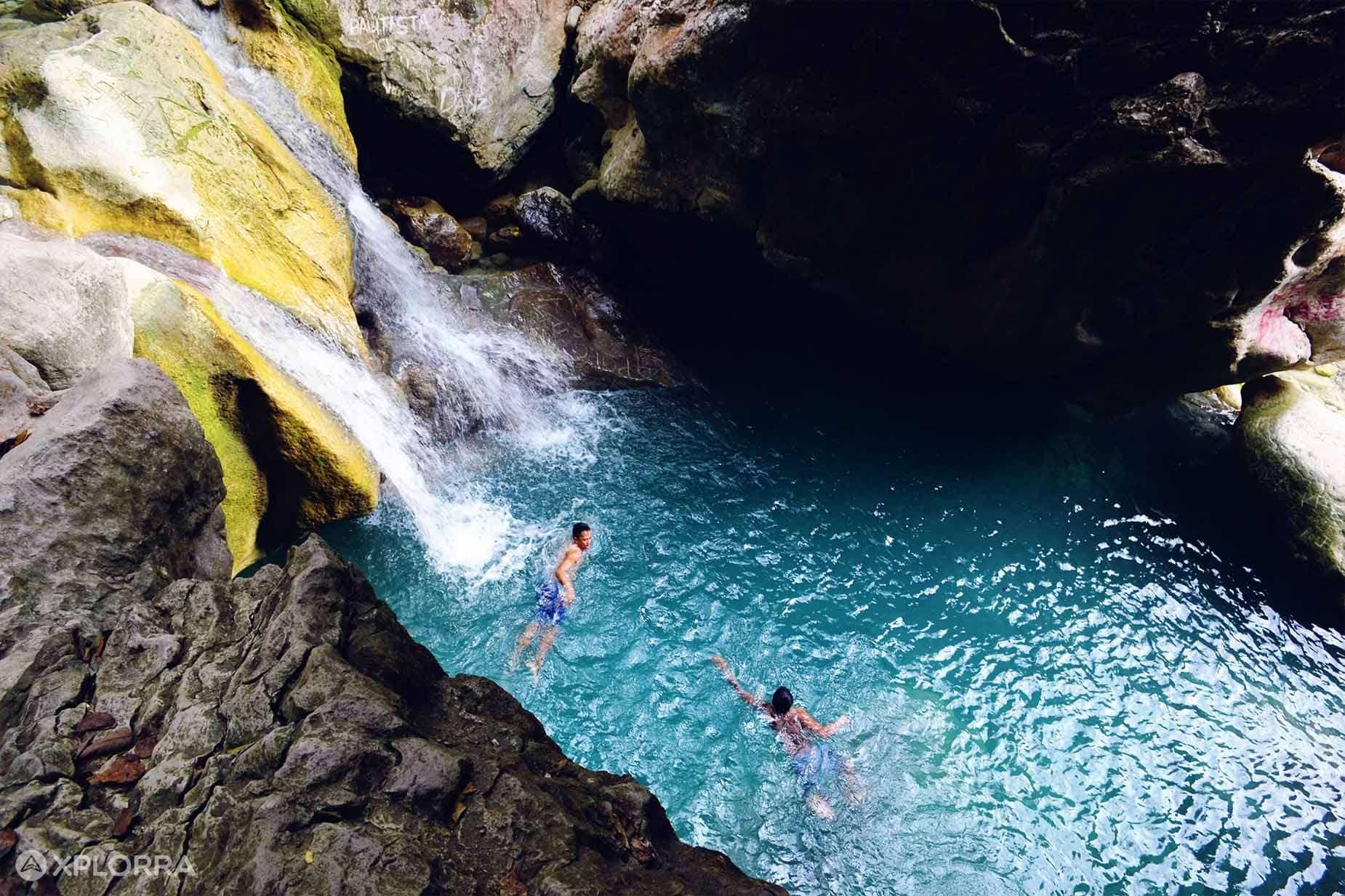 Pangasinan tourist spots, Pangasinan travel guide, Antong Falls in Pangasinan,