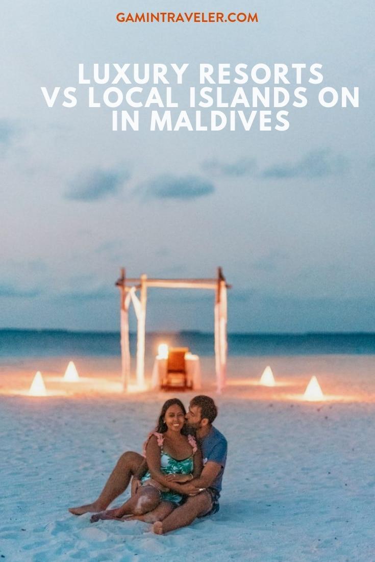 Luxury Resorts Vs Local Island in Maldives