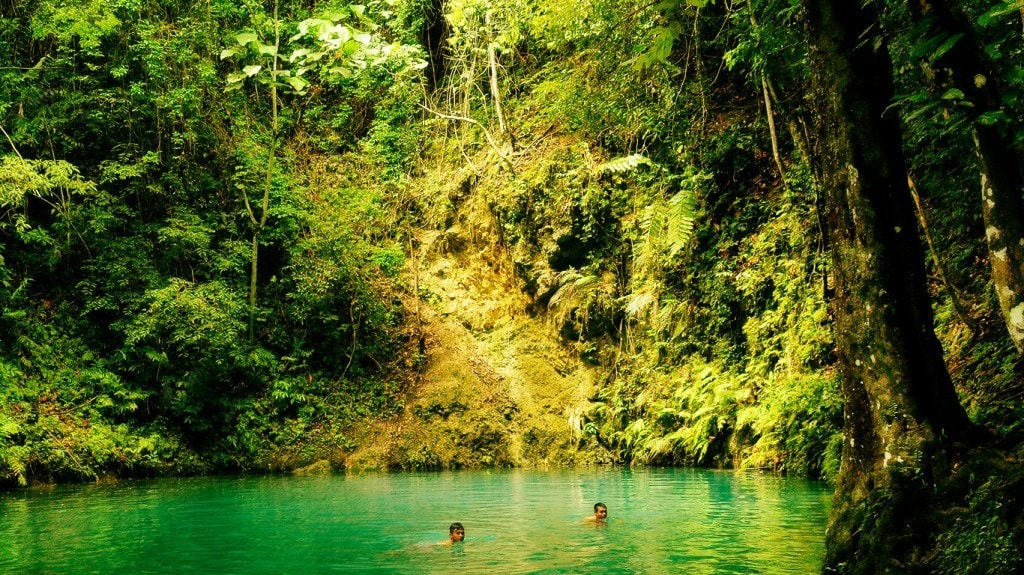 Canawa Cold Spring, places to visit in Bohol