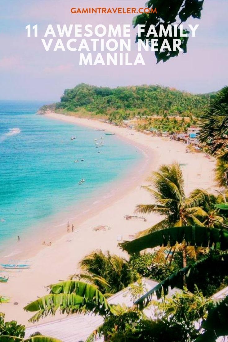 Family Vacation near Manila