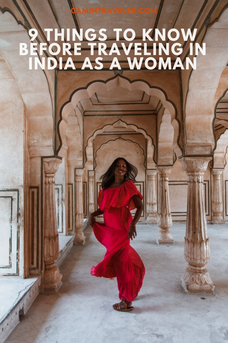 things to know before traveling in India as woman